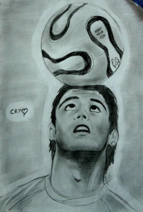Cristiano Ronaldo by Vinnysv